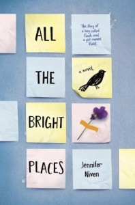 Post It Note Book Cover All the Bright Places Jennifer Niven