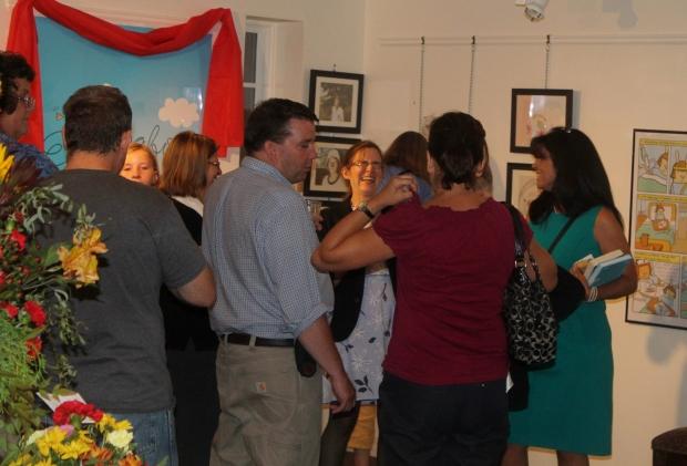 Cece Bell El Deafo book launch party