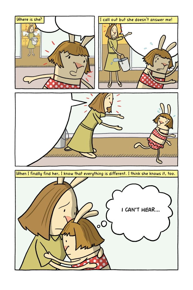 Perhaps the most heart-breaking of El Deafo's many heart-breaking moments.
